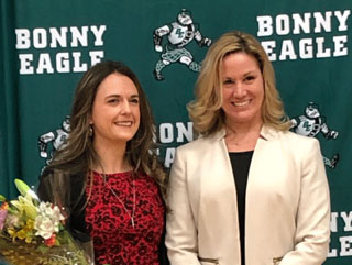 Erin Maguire and Dr. Holly Couturier