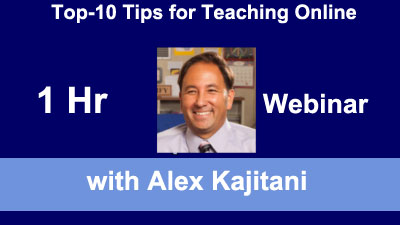 Top-10 Tips for Teaching Online